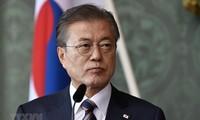 韩国敦促朝鲜推动半岛无核化