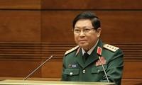 越南高级军事代表团出席第十三次东盟防长会议