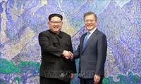 """朝鲜媒体呼吁韩国韩朝关系中""""自主独立"""""""