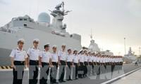 """越南海军016""""光忠""""号导弹护卫舰访问俄罗斯"""