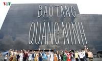 东盟加三歌唱大赛:参赛选手参观广宁博物馆