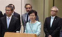 中国香港特区政府通报开始构建对话平台