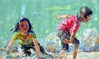 งานนิทรรศการภาพวาดของกลุ่มจิตรกรเวียดนาม มาเลเซีย และไทย