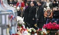 กิจกรรมรำลึกถึงผู้เสียชีวิตจากเหตุก่อการร้ายในฝรั่งเศส