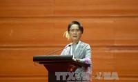 รัฐสภาพม่าชุดใหม่เปิดการประชุมนัดแรก