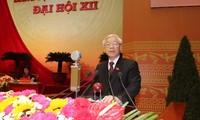 ผู้นำพรรคประเทศต่างๆส่งโทรเลขอวยพรถึงเลขาธิการใหญ่พรรคคอมมิวนิสต์เวียดนาม