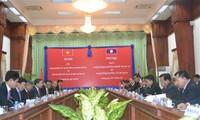 รัฐมนตรีว่าการกระทรวงรักษาความมั่นคงทั่วไปเวียดนามเดินทางไปเยือนประเทศลาว