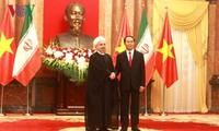 Президент СРВ Чан Дай Куанг провел переговоры с иранским коллегой