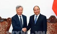 Премьер Вьетнама Нгуен Суан Фук принял председателя Банка АБИИ