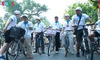 Зеленый маршрут для ходьбы и катания на велосипедах в поддержку акции «Час Земли 2017»