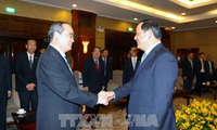 Нгуен Тхиен Нян принял вице-премьера Лаоса Сонесай Сипхандона