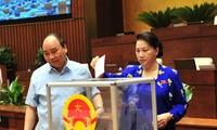 Нацсобрание Вьетнама утвердило новые кадровые назначения