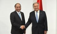 Премьер Вьетнама Нгуен Суан Фук встретился с генсеком ООН и председателем Евросовета