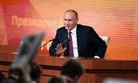 В Кремле состоялась ежегодная пресс-конференция президента России