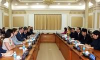 Город Хошимин активизирует сотрудничество с Санкт-Петербургом