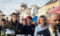 После обрушения моста премьер-министр Италии ввел в Генуе режим ЧП