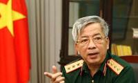 Замминистра обороны СРВ Нгуен Чи Винь принял посла Великобритании во Вьетнаме