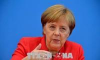 Президент РФ встретился с канцлером Германии в Берлине