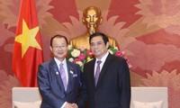 Chủ tịch Nhóm Nghị sĩ hữu nghị Việt Nam- Nhật Bản tiếp Phó Chủ tịch Liên minh Nghị sĩ hữu nghị Nhật-Việt
