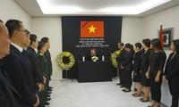 В Испании и Индонезии прошла церемония прощания с президентом Вьетнама Чан Дай Куангом