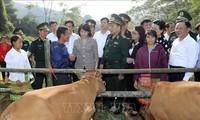 Врио президента Вьетнама Данг Тхи Нгок Тхинь совершила рабочую поездку в провинцию Шонла