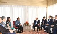 Нгуен Суан Фук принял председателя Торгово-промышленной палаты Индонезии