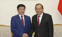 Вьетнам придает важное значение сотрудничеству с Монголией