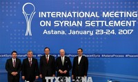 Россия, Турция и Иран проведут следующий раунд переговоров по сирийскому урегулированию
