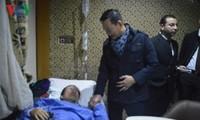 Оказание помощи вьетнамцам, пострадавшим в результате взрыва в Египте