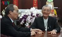 Нгуен Тхиен Нян поздравил религиозные организации в городе Хошимине с Тэтом 2019
