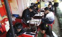Вьетнамская традиция по написанию каллиграфических иероглифов в дни Тэта