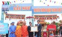 Фестиваль традиционного рыболовства в Дананге был признан национальным культурным наследием
