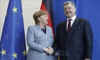 Германия, Франция и Украина приветствовали участие России в урегулировании конфликта в Донбассе