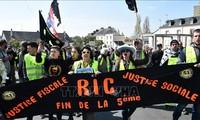 Во Франции прошла очередная акция протеста «желтых жилетов»