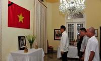 На Кубе прошла церемония прощания с товарищем Ле Дык Анем