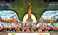 Празднование 60-летия со дня приезда президента Хо Ши Мина в провинцию Шонла