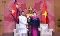 Нгуен Тхи Ким Нган приняла премьер-министра Непала