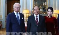 Премьер-министр Вьетнама Нгуен Суан Фук встретился с королем Швеции Карлом XVI Густавом