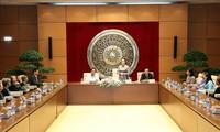 Нгуен Тхи Ким Нган приняла делегацию женщин-военных из провинции Бенче