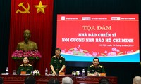 В Ханое прошел семинар «Военный журналист следует примеру журналиста Хо Ши Мина»