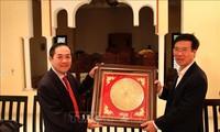 Заведующий Просветительно-пропагандистским отделом ЦК КПВ Во Ван Тхыонг совершил визит в Марокко