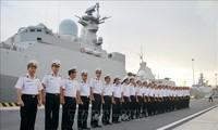 Ракетный фрегат 016 «Куанг Чунг» ВМС Вьетнама отправился в РФ для участия в параде кораблей