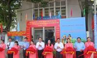 Выставка книг и фотографий на тему «Президент Хо Ши Мин вечно живёт в нашем деле»