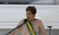 Brazilian President Dilma Rousseff sworn in for the second term