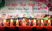 Festival honors Dai Tu tea in Thai Nguyen province