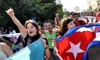South American countries hail re-establishment of US-Cuba diplomatic ties