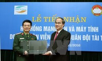 Viettel supports Vietnam Fatherland Front Local Area Network and computers for election