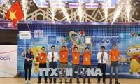 Vietnamese team triumphs at 2018 ABU Robocon contest