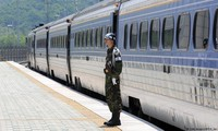 Koreas gain US sanctions exemption for joint rail survey