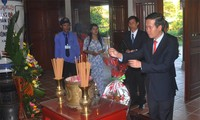 The late PM Pham Van Dong commemorated